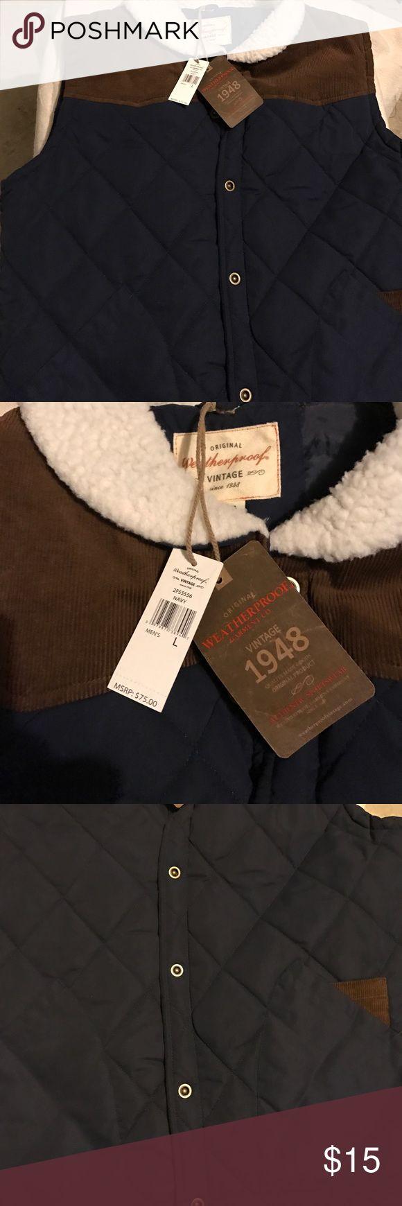 Men's puffer vest by vintage 1948 Great men's  puffer vest by vintage 1948 Vintage Jackets & Coats Vests