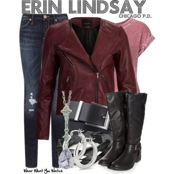 Mostly I just love the jacket. Inspired by Sophia Bush as Erin Lindsay on Chicago P.D.