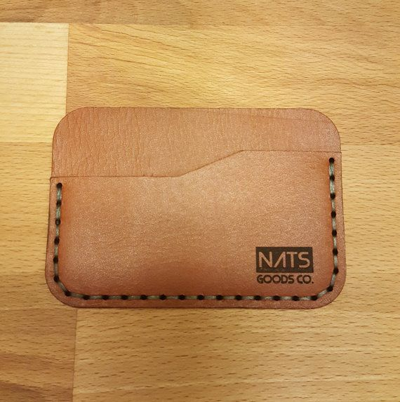 Check out this item in my Etsy shop https://www.etsy.com/listing/487916874/slim-credit-card-wallet-leather-card