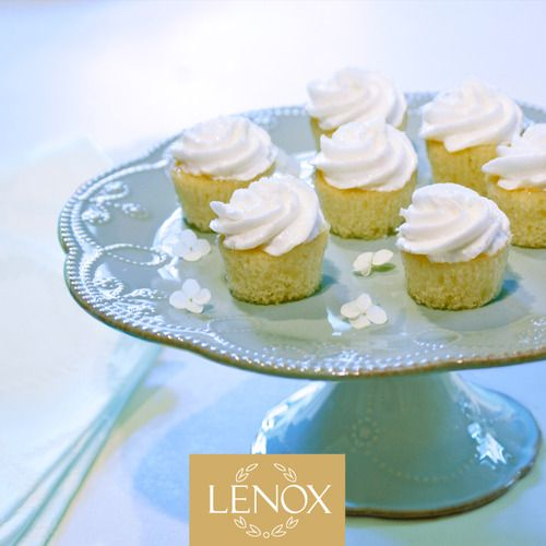 """WHITE BITES"" RECIPE 7. Tiny White Cupcakes 