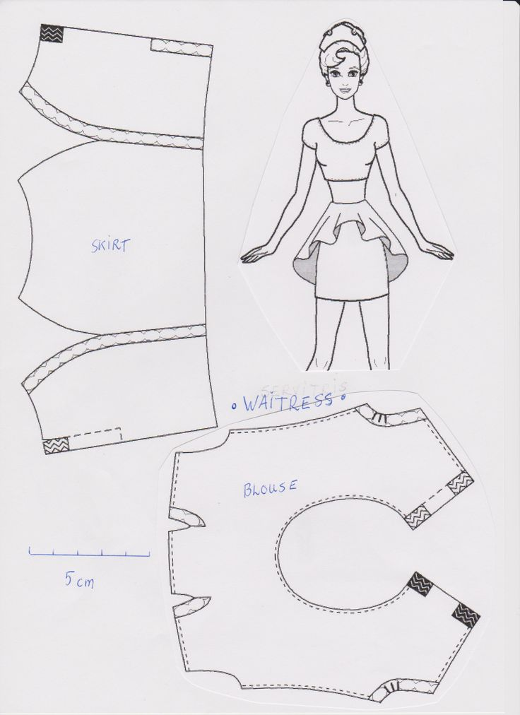 Obsessed image in barbie dress patterns free printable pdf