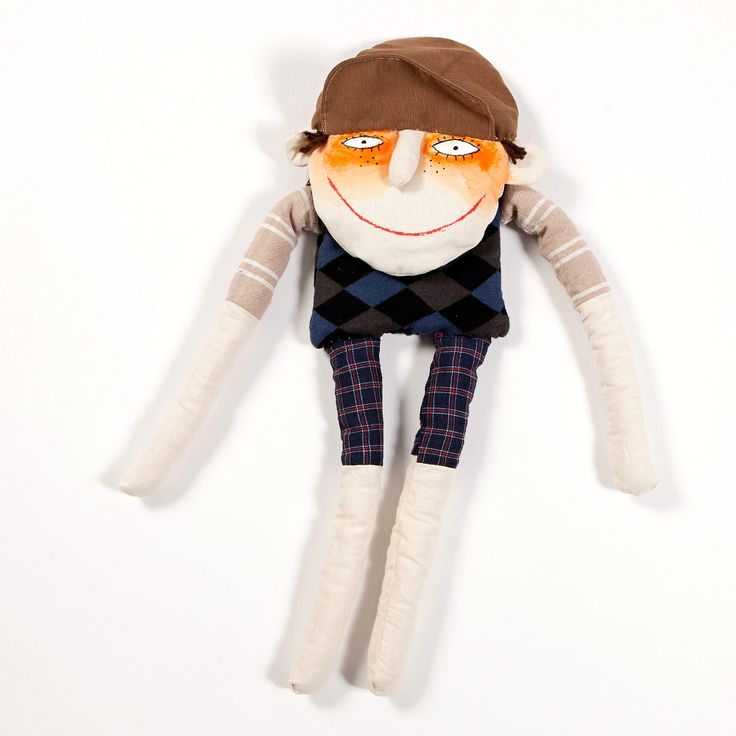 Golfin girl hand sewn doll. Buy it on www.birdiecountry.com golf gift, golf gifts idea, golf gifts for women