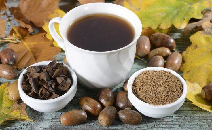 Eichel-Kaffee ist gut für die Verdauung und wirkt blutdrucksenkend