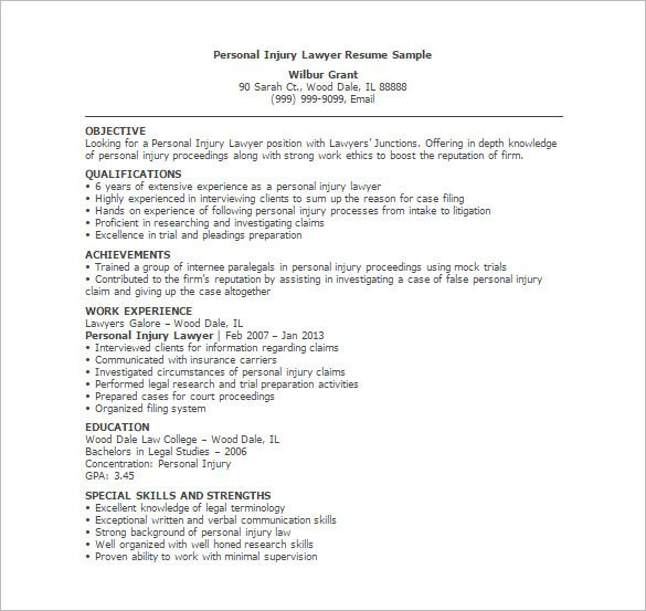 Litigation Attorney Resume Sample. Litigation Attorney Resume