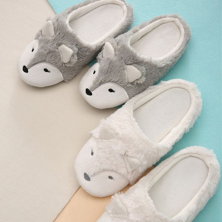 Warm <b>Winter Home Slippers Women House Shoes</b> For Bedroom ...