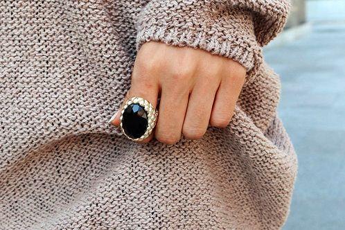 Big ring  Bague ♥