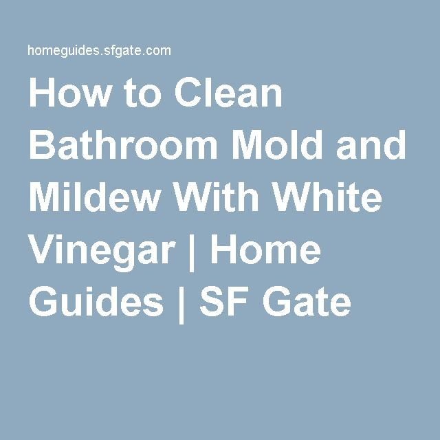 White Mold In Bathroom: 25+ Best Ideas About Bathroom Mold On Pinterest