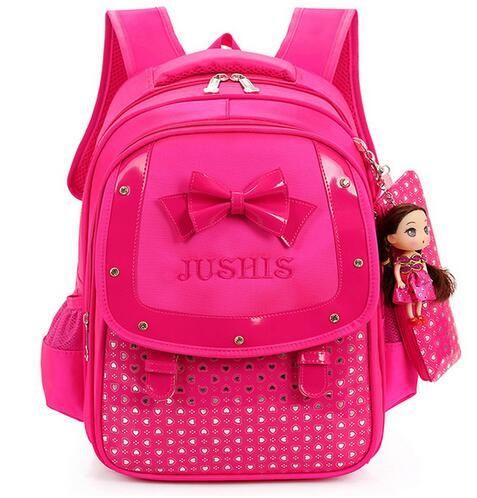 Cute Girls Backpacks Kids Satchel Children School Bags For Girls Orthopedic Waterproof Backpack Child School Bag Mochila Escolar♦️ SMS - F A S H I O N 💢👉🏿 http://www.sms.hr/products/cute-girls-backpacks-kids-satchel-children-school-bags-for-girls-orthopedic-waterproof-backpack-child-school-bag-mochila-escolar/ US $20.58