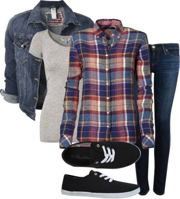 25 Best Ideas About Plaid Outfits On Pinterest Wcw