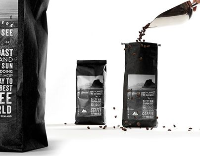 """Check out new work on my @Behance portfolio: """"Mt Atkinson Coffee."""" http://on.be.net/1GHkvq3"""