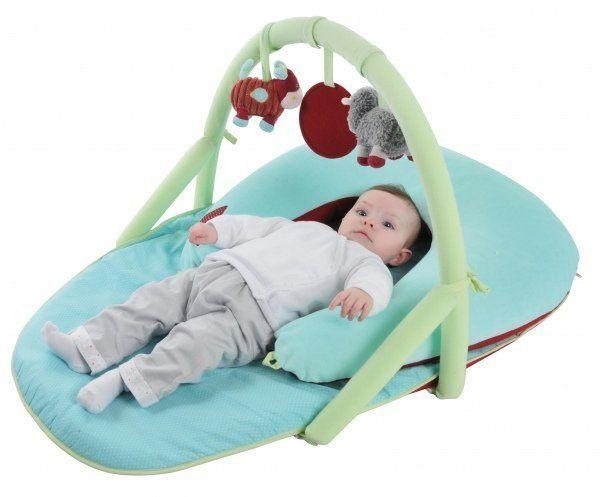 Latitude Enfant Mata edukacyjna Progressive z pałąkiem i poduszkami   MALL.PL