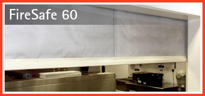 60 Minute Fire Curtains   Firesafe 60 1 Hour Fire Curtain