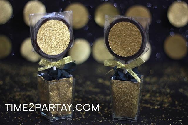 Time to Partay!: Hajj Mubarak!- #Hajj #Kaaba #Black #gold #decorations #eid #chocolate #lollipops #favors #treats