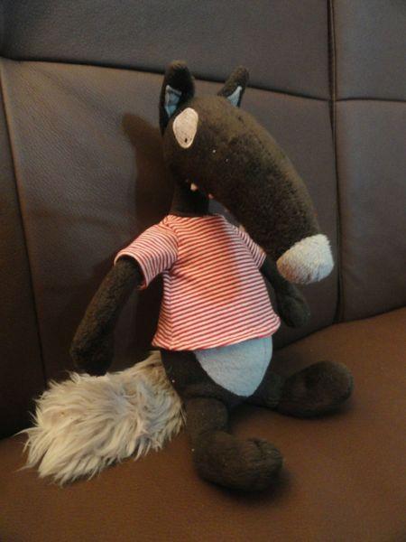 Loup le tee shirt tuto loup pinterest loups tuto et changer de couleur - Changer de couleur tricot ...