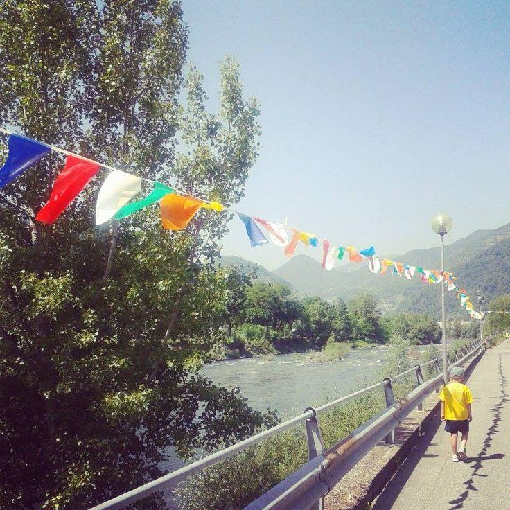Lungo il fiume Brembo, Festa dello sport, Zogno 2014