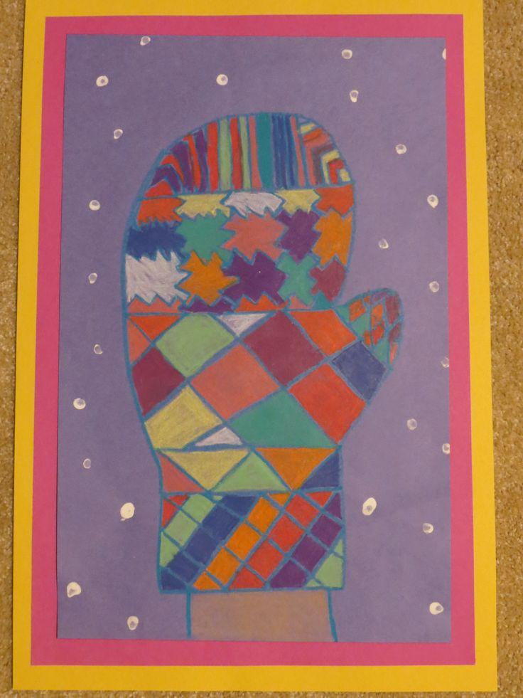 Winter Mitten -4th grade