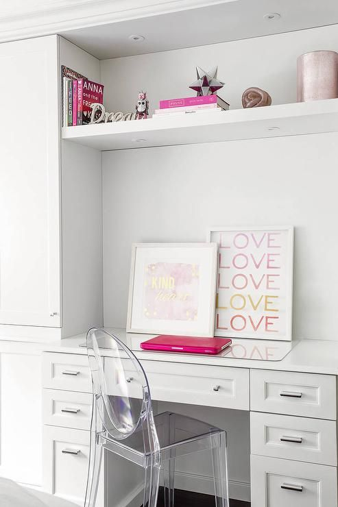 Best 25+ Girl Desk Ideas On Pinterest