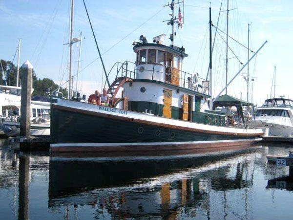 1897 Tacoma Tugboat Classic Tug Power Boat For Sale - www.yachtworld.com