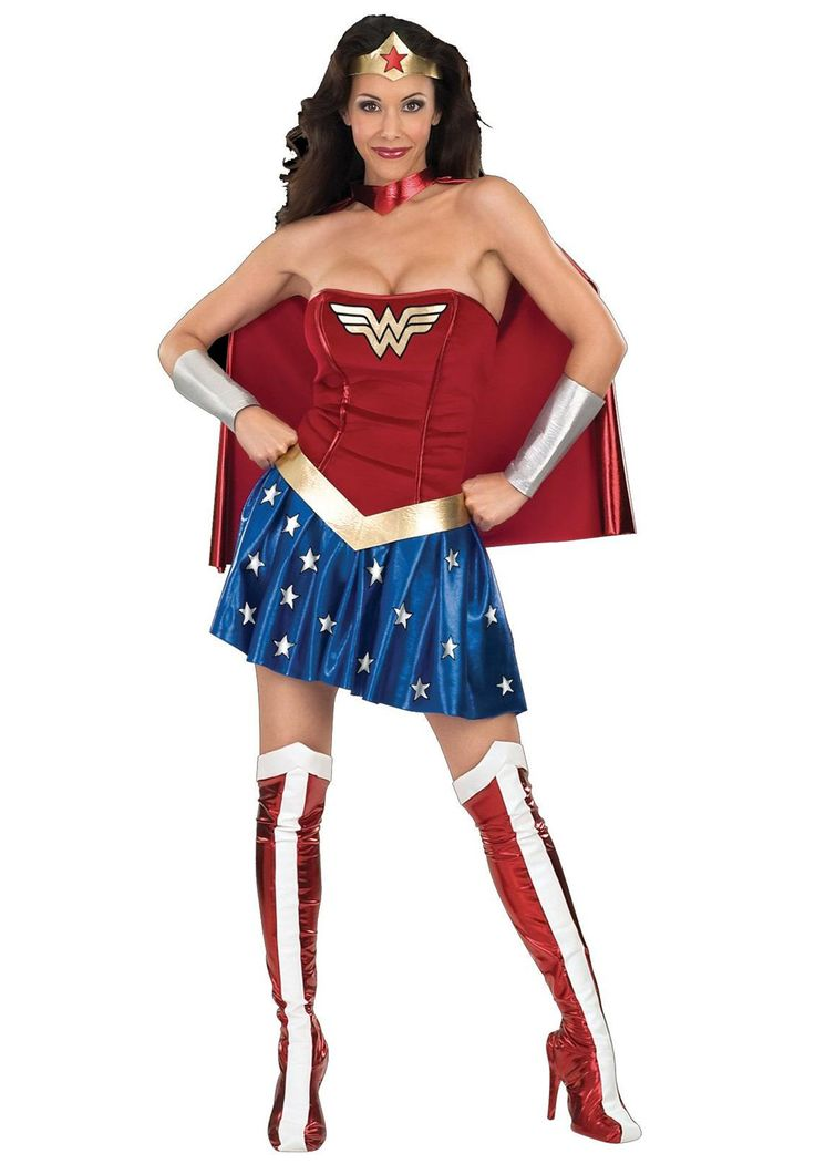 Sexy Wonder Woman Costume | Adult Wonder Woman Costume | eBay