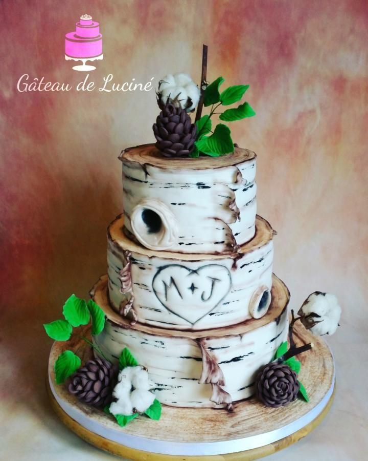 Top 25 best Tree wedding cakes ideas on Pinterest Birch tree
