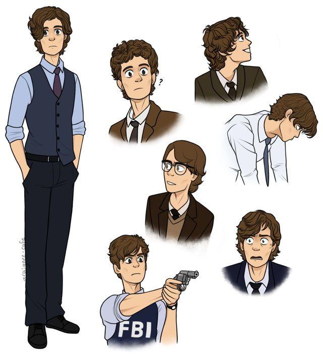 James Bates | lol | Spencer criminal minds, Criminal minds