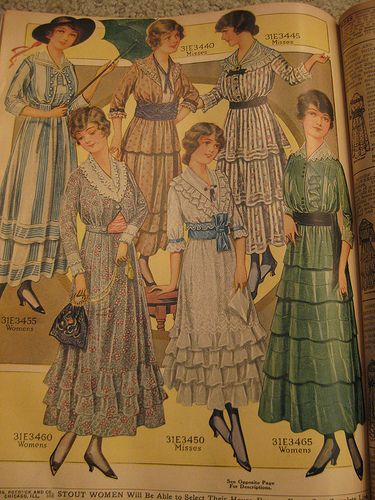 IMG_2175 | Flickr : partage de photos !1916 Sears, Roebuck Co. Catalog women's clothing section.