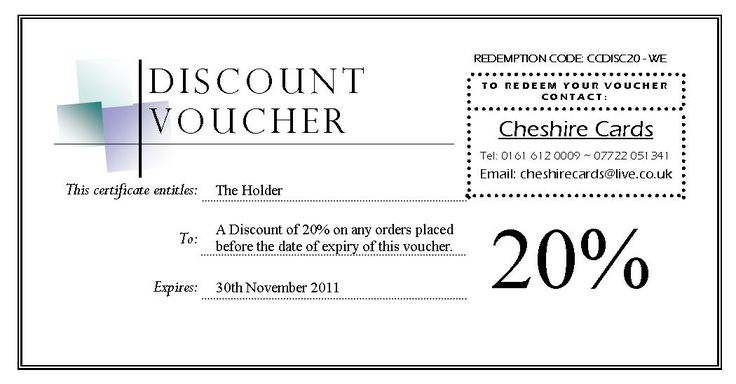 Editable Discount Voucher Giveaway Template with Black ad White Color : Helloalive