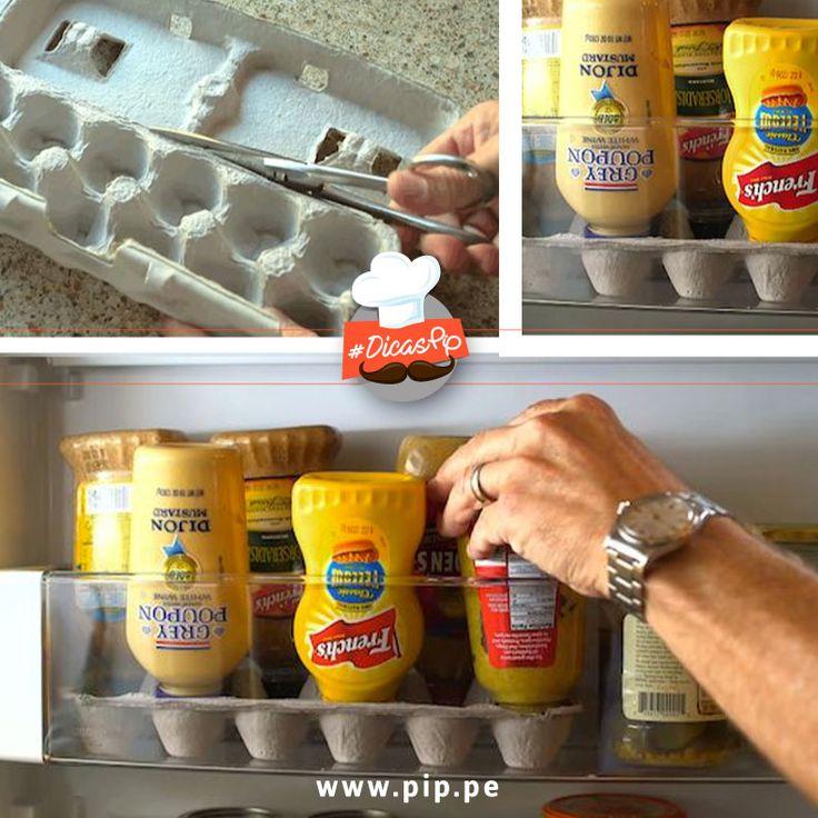 Otimize o espaço da sua geladeira gastando pouco!