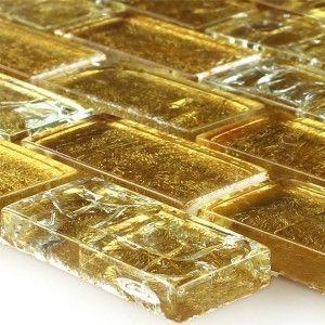 25+ Best Ideas About Glasmosaik Fliesen On Pinterest | Badewanne ... Badezimmer Gold Mosaik