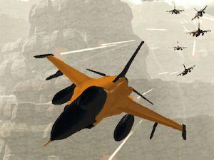 Orange Jet Fighter - Juegos de aviones