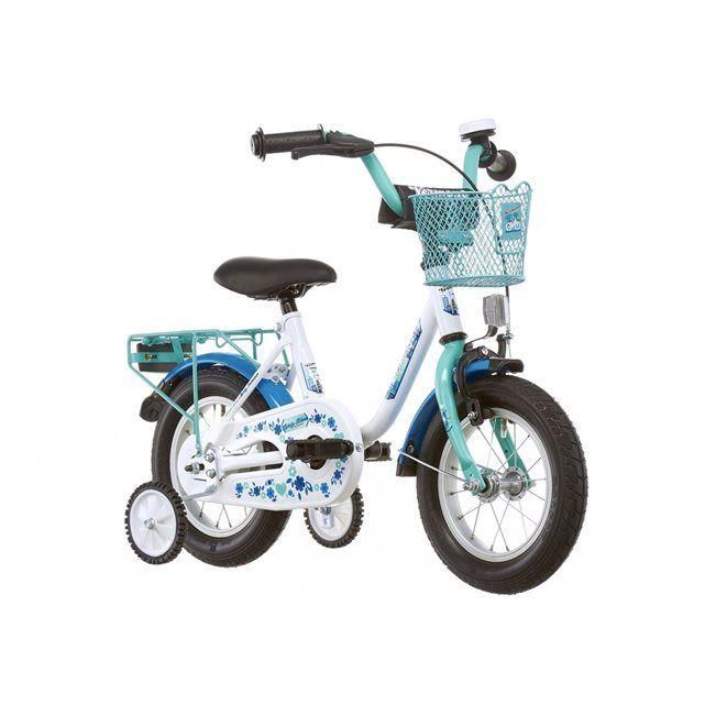 Girly - Vélo enfant 12 pouces - bleu VERMONT