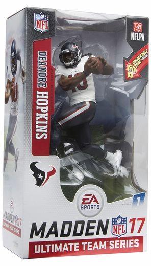 DeAndre Hopkins (Houston Texans) EA Sports Madden NFL 17 Ultimate Team Series 1 McFarlane
