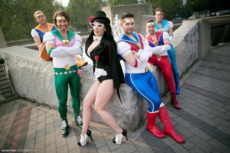 Sailor moon genderbend cosplay