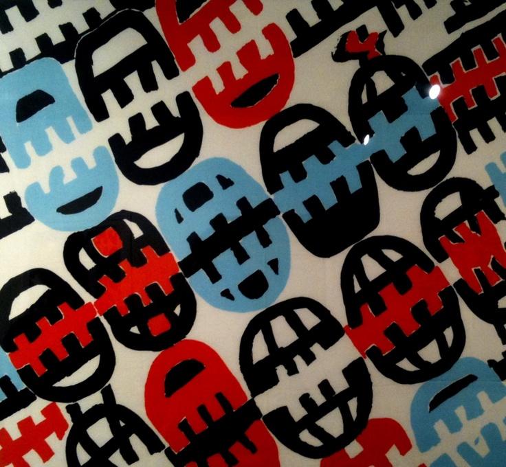 Nèura Magazine n. #4 (photo: Foulard, Giuseppe Capogrossi) #pattern