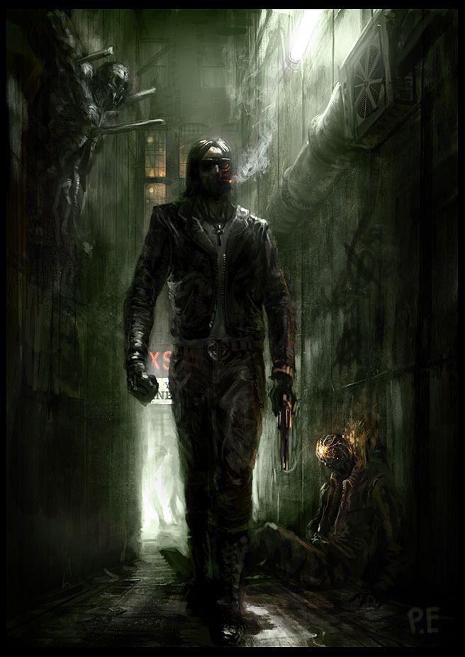 Vampire Hunter by PE-Travers }-> repinned by www.BlickeDeeler.de