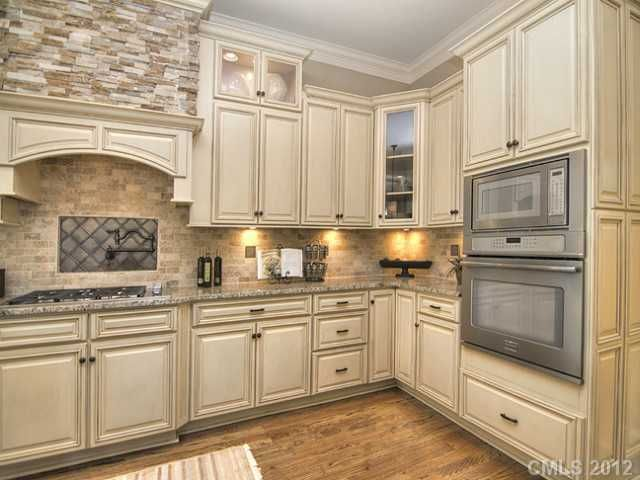 French Vanilla Rta Cabinets For The Home In 2019 Kitchen Glazed