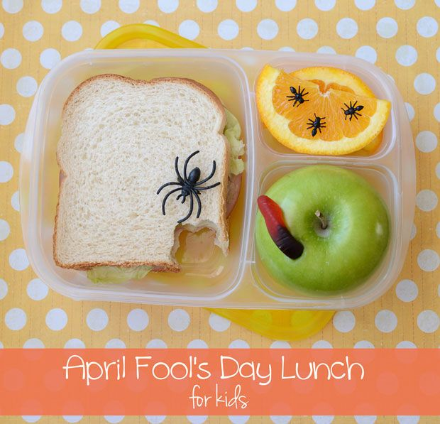 This tricky lunch will have kids giggling at lunch hour on April 1st!