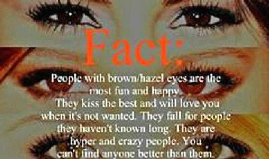 hazel eyes :) | Facts to Know | Pinterest