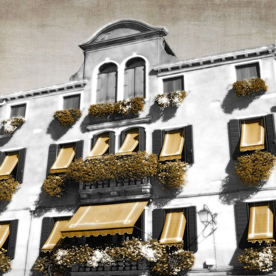 Photographic Art Print Murano Italy Gold by TDMillerArtPrints
