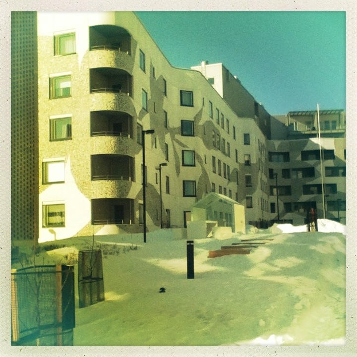 Apartments, Arabianranta, Helsinki, March 2013