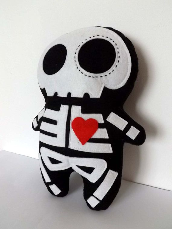 Peluche de Esqueleto