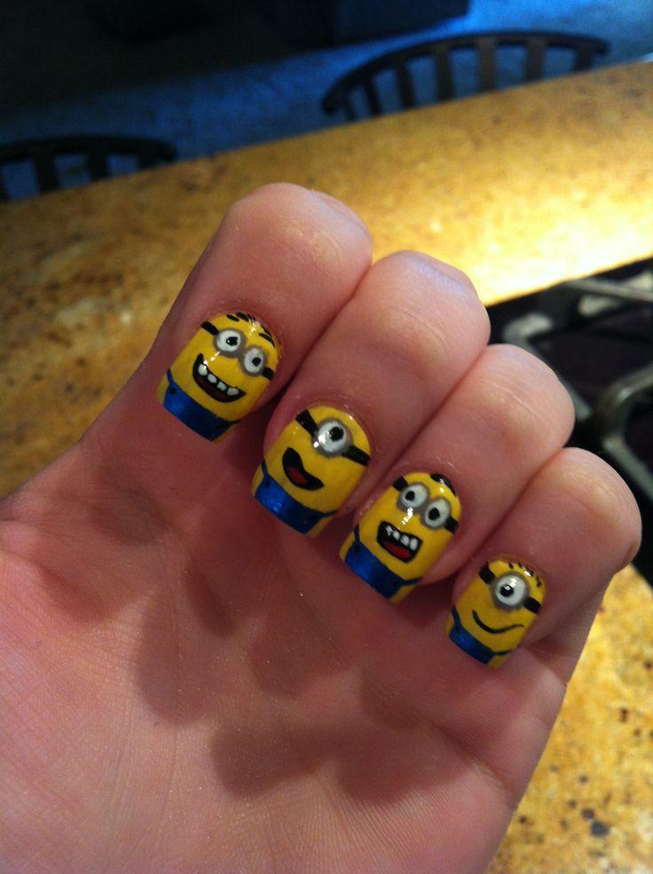 Despicable Me 2 nails