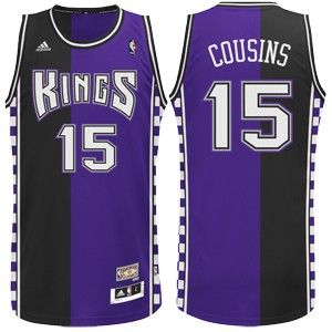 a98672451bd ... Sacramento Kings Hardwood Classic 90s Throwback Demarcus COUSINS  Swingman Jersey from Adidas features a two color ...
