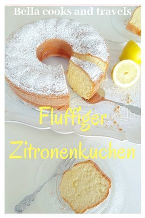 Dieser Kuchen ist himmlisch und superlecker. #rezept #zitronenkuchen #einfach #s