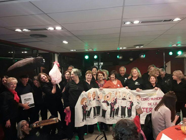 El Coro Municipal de la Tercera Edad representó a Tandil en un encuentro en Mendoza