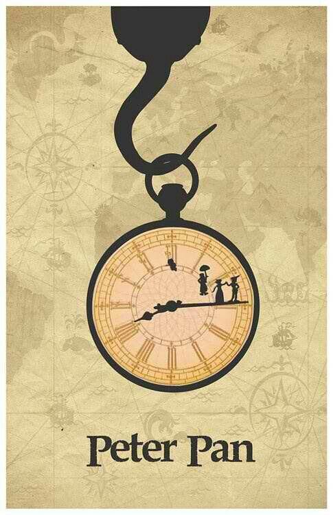 Peter pan • relógio !
