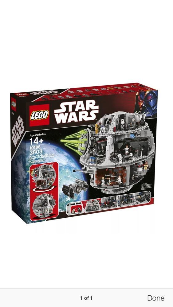 Lego Death Star 10188 Star Wars Set New SEALED Global SHIP Available Sold Out 673419169271 | eBay