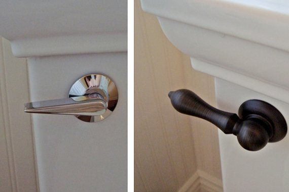 You Can Handle the Transformation:   Sometimes, a little bit can go a long way. Replacing hardware, such as your toilet handle, upgrades your bathroom for a mere $10 to $15. Also consider replacing your cabinet hardware, including pulls and handles, your door hardware, and towel racks.
