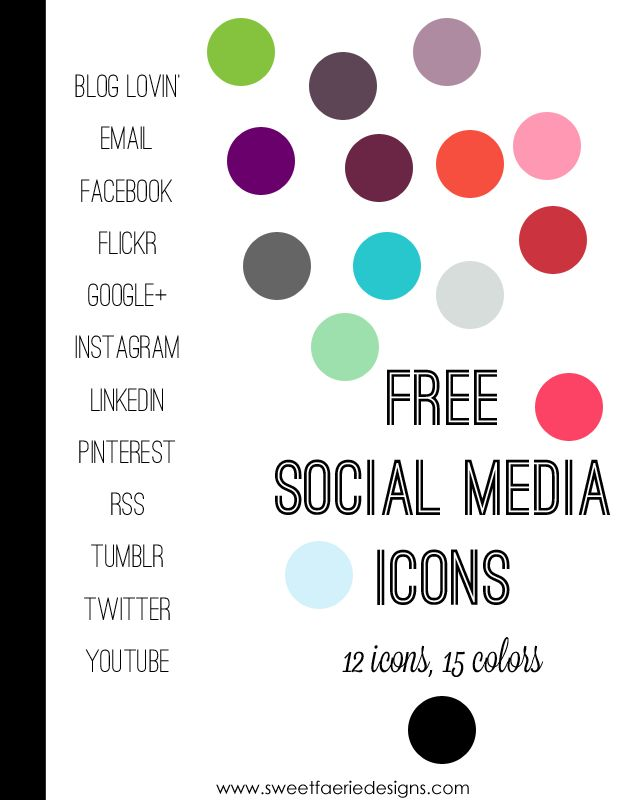 Becoming Martha: {5+5 Friday} 10+ Free Resources for Social Media Icons    - Learn Anything Online - NO B.S. University http://www.NOBSU.com Pin Now, Use Later