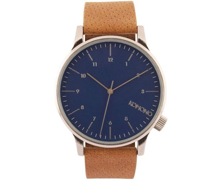 Komono Winston KOM-W2000, modrá, 1890 Kč   Slevy hodinek